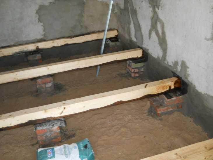 Как правильно сделать деревянный пол в гараже