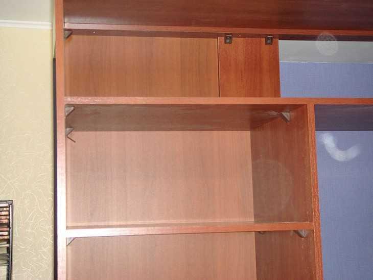 Полки во встроенный шкаф своими руками.
