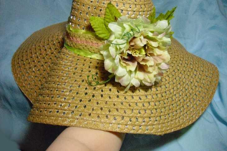 Чем можно украсить шляпу своими руками 5