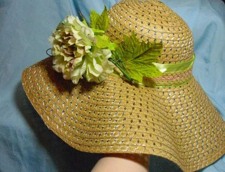 Чем можно украсить шляпу своими руками 41