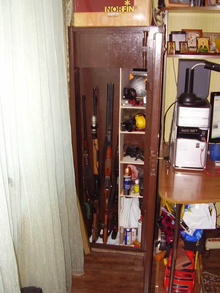 Оружейный сейф своими руками фото