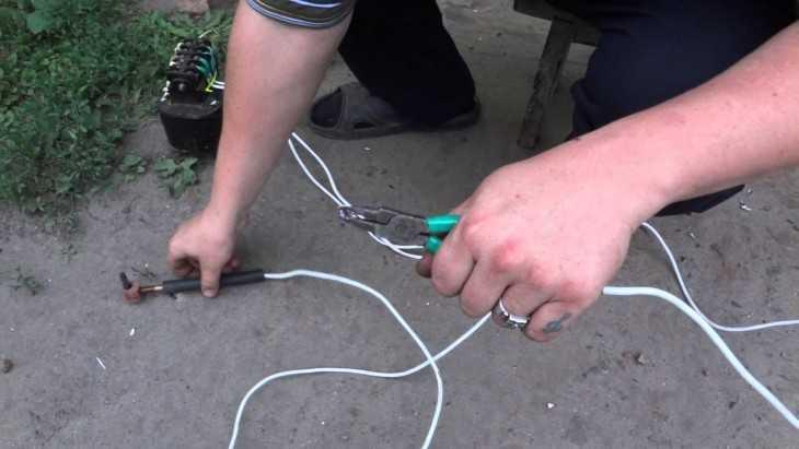 Сварка медного провода своими руками