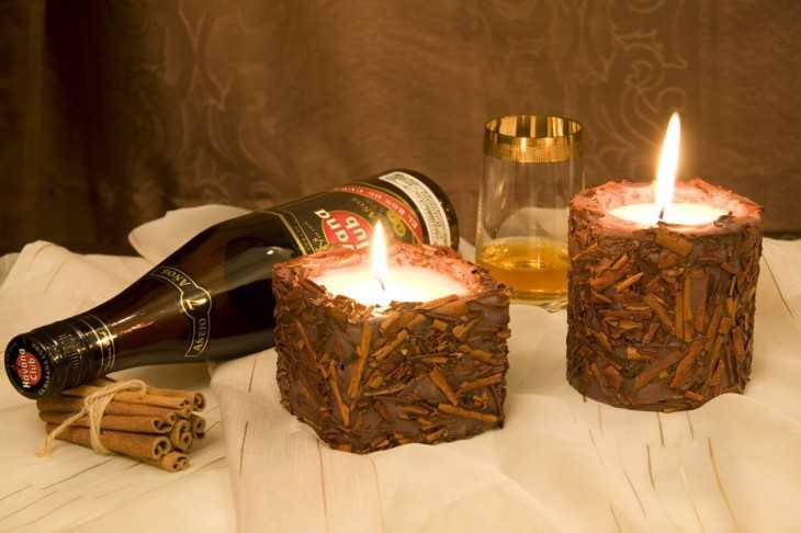 Подарки свечи с фото 534