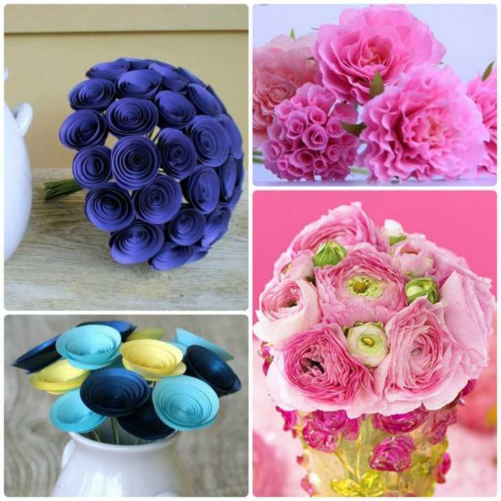Цветки из полимерной глины своими руками 153
