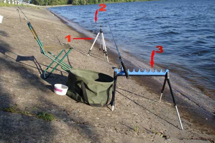 подставки для удочек для рыболовных