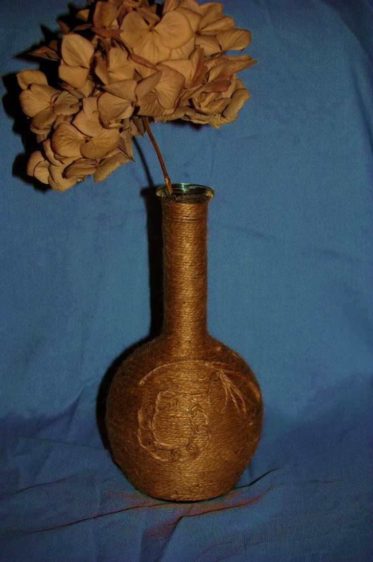 Как сделать большую вазу своими руками фото