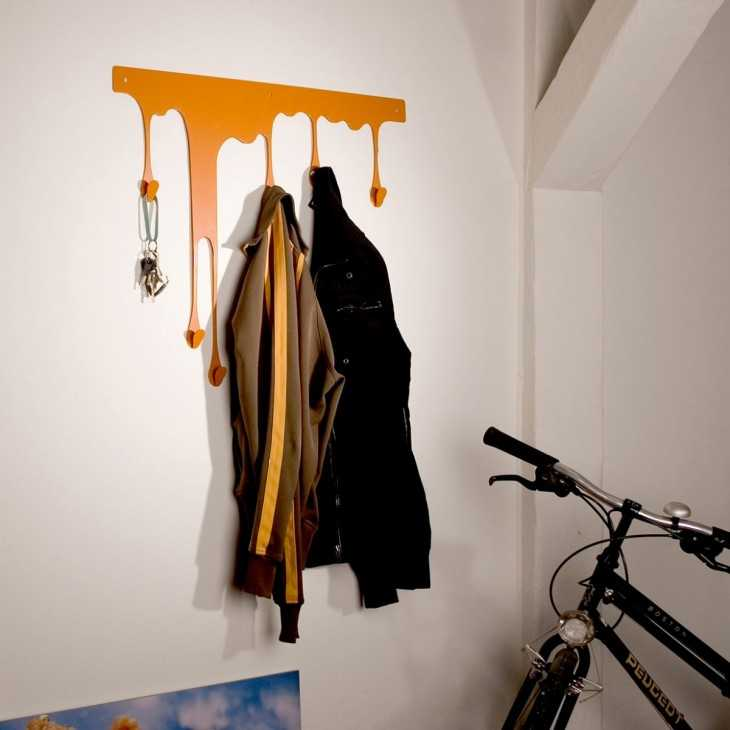 Вешалка для пальто своими руками 82