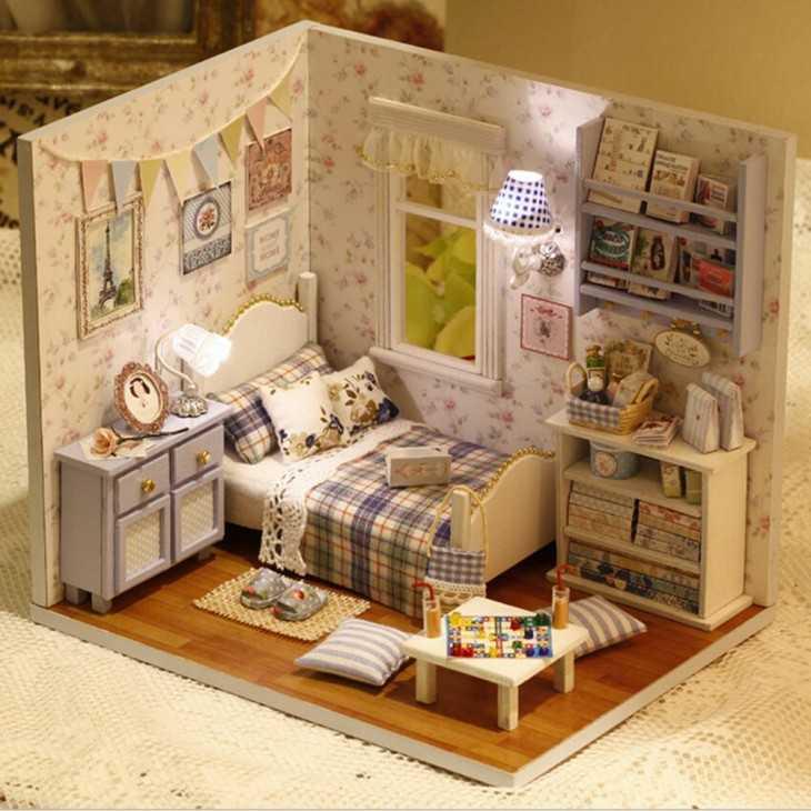 Кукольные домики своими руками материалы 43