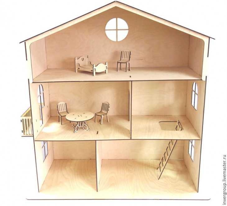 Как сделать дом из двп 734