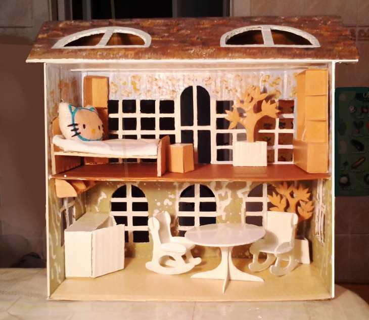 Кукольный домик картинки своими руками 79