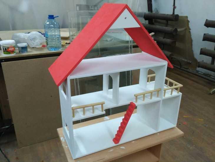 Кукольный домик своими руками - 66 фото создания 30