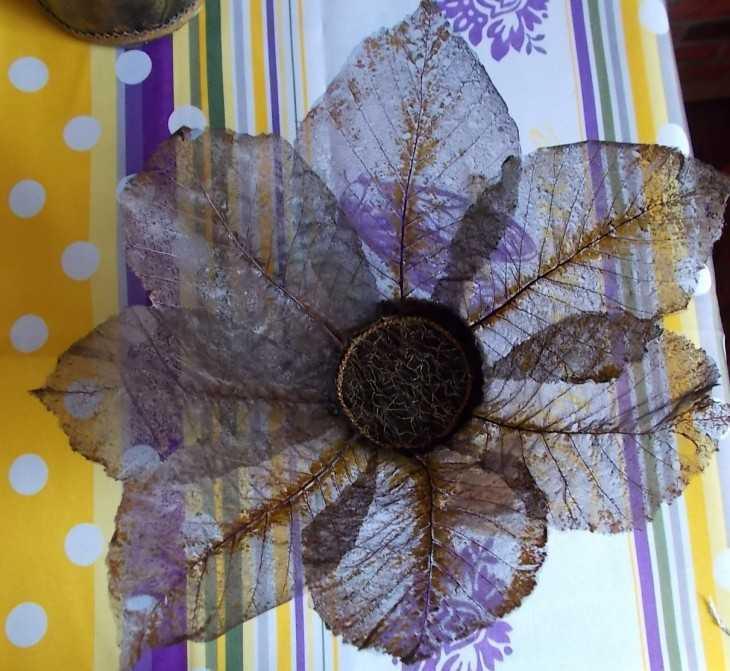 Поделки из листьев - 100 фото лучших идей подделок из сухих осенних листьев